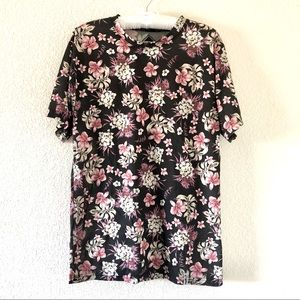 Neff Floral T-Shirt Size Small